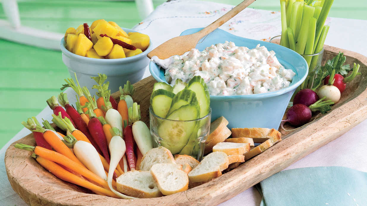 and blue cheese spread farm fresh easter menu southern living