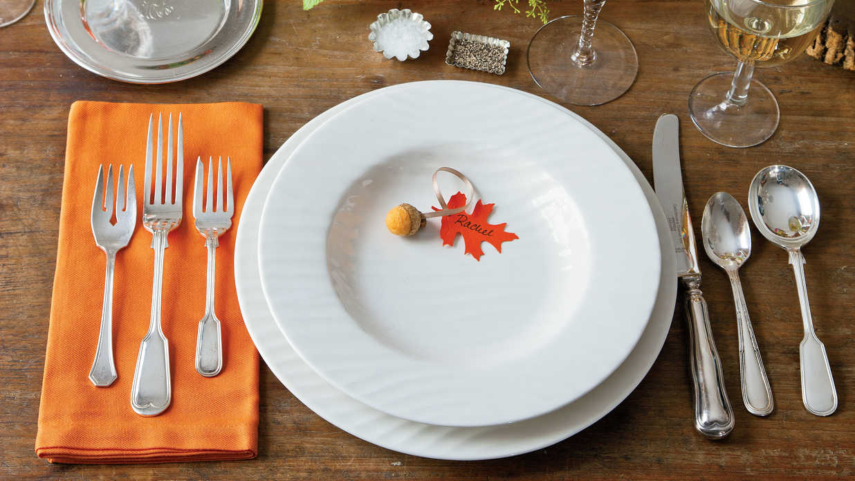 Natural Thanksgiving Table Decoration Ideas