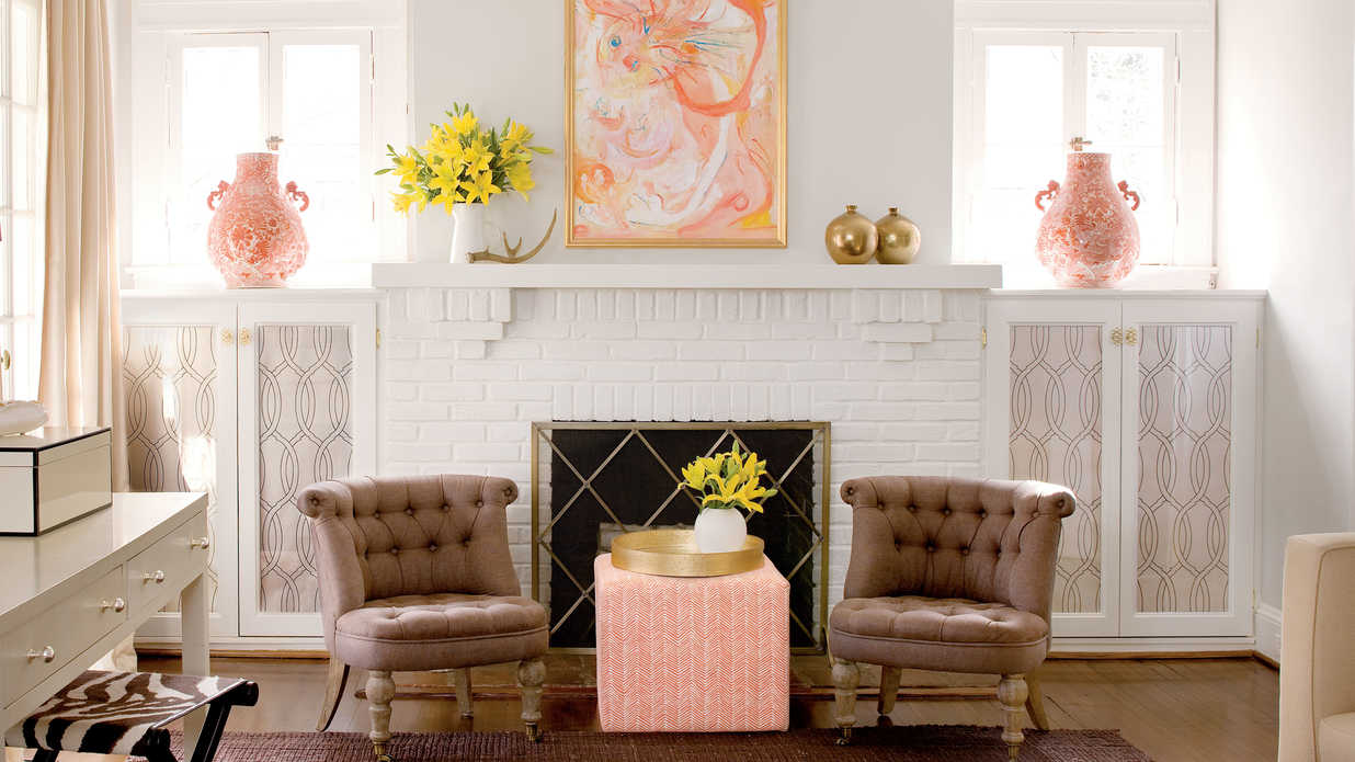 Interior Home Decorating a decorator's 1920s home redo - southern living