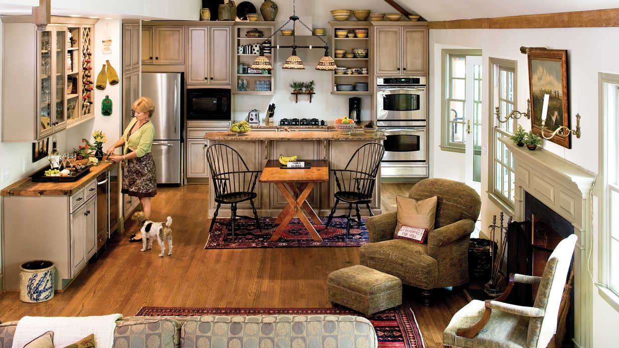 Rearrange and renew kitchen inspiration southern living for Southern living kitchen designs