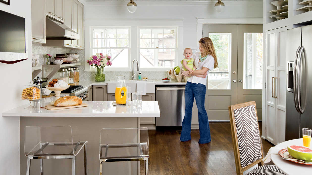cottage kitchen makeover decorating tips ideas southern living