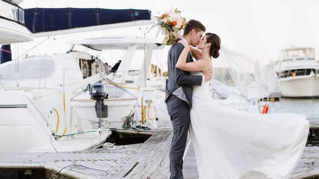 Dreamy Chesapeake Bay Wedding