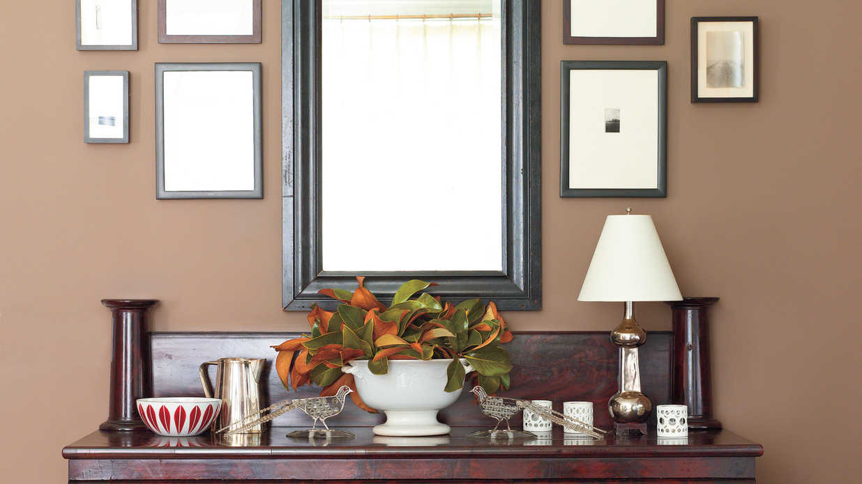 Decorating A Dining Room Buffet Southern Living . Dining Room Sideboard  Decorating Ideas. Modern Home
