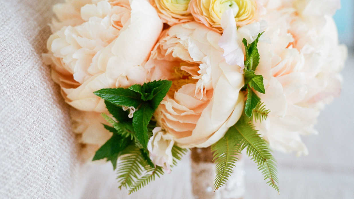 Sweet As Spring Wedding Flowers
