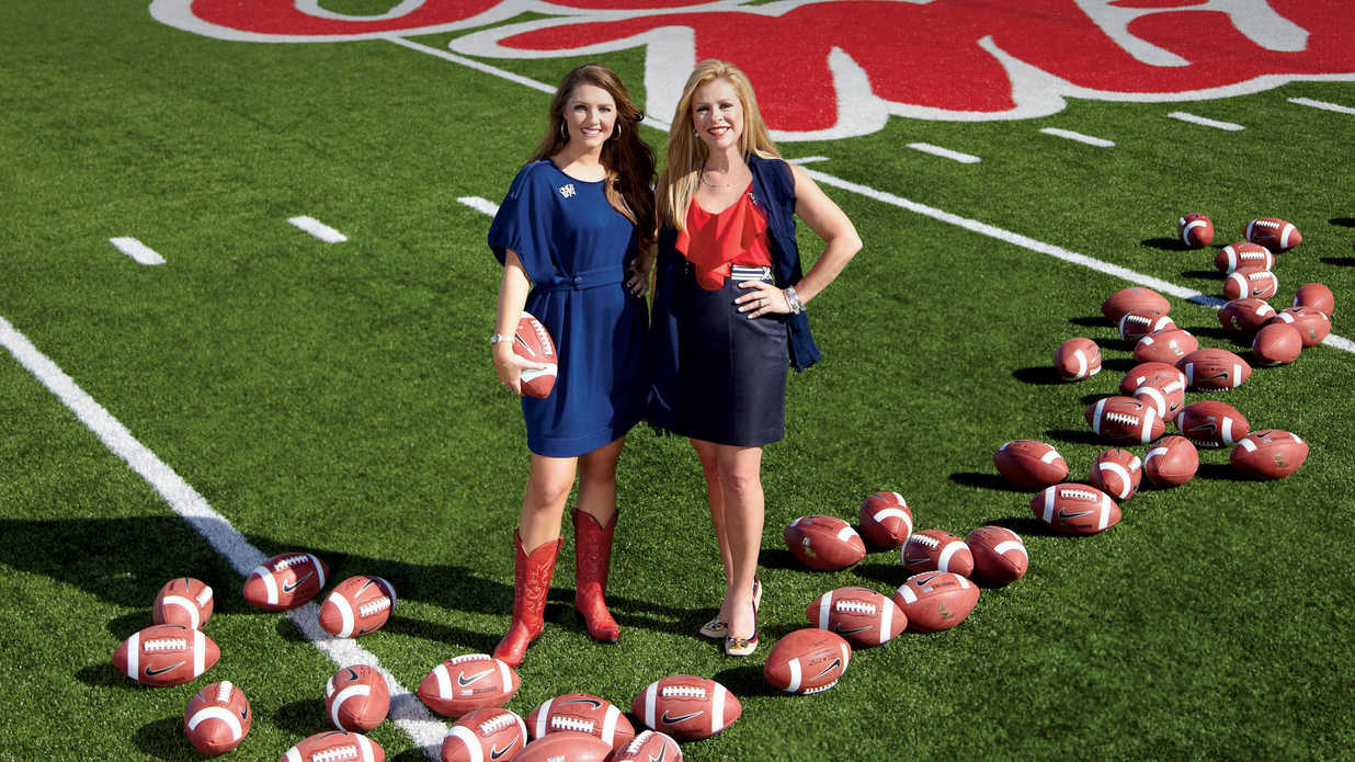 Stylish Game Day Clothes: Leigh Anne and Collins Tuohy - Southern Living