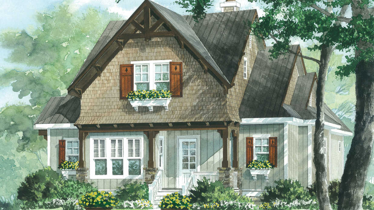 Wind riverplan 1551 18 small house plans southern living for High end home plans