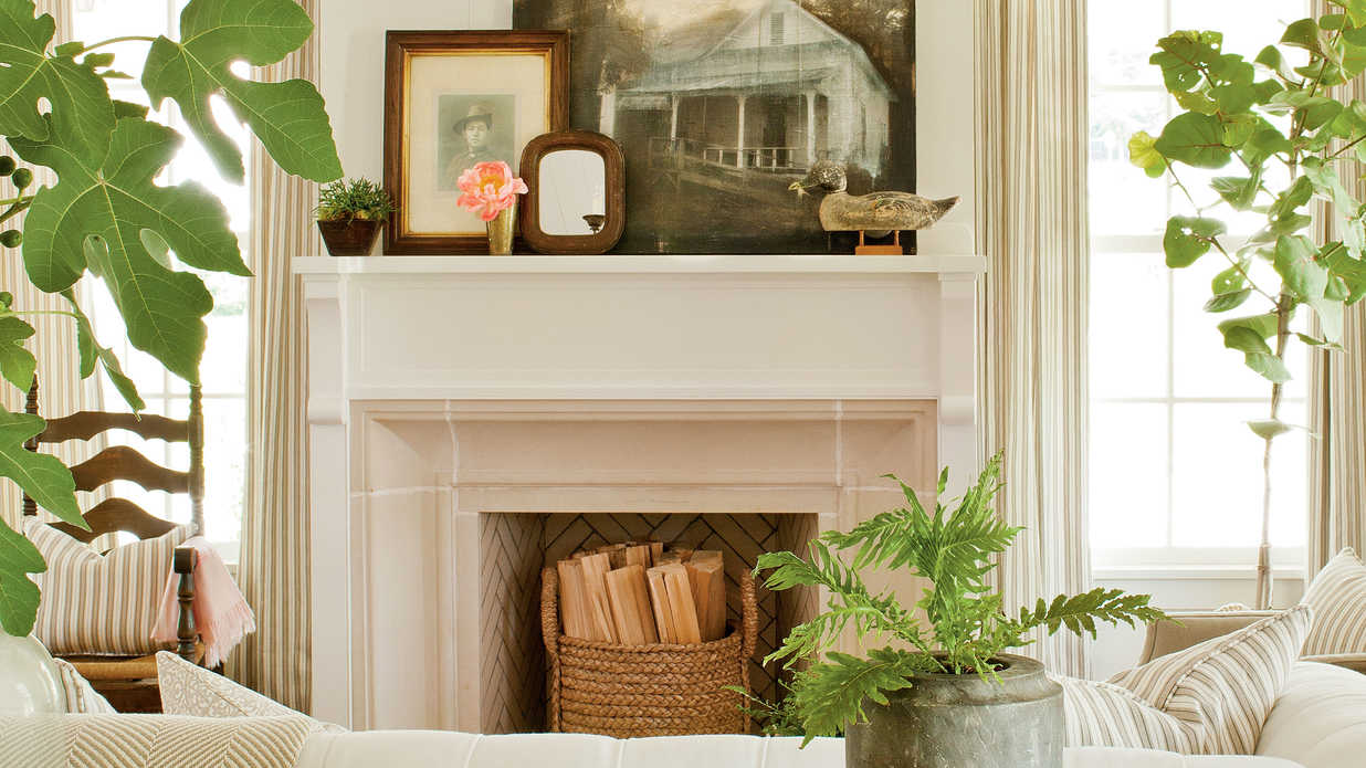 Authentic Gas Fireplace - 25 Cozy Ideas for Fireplace ...