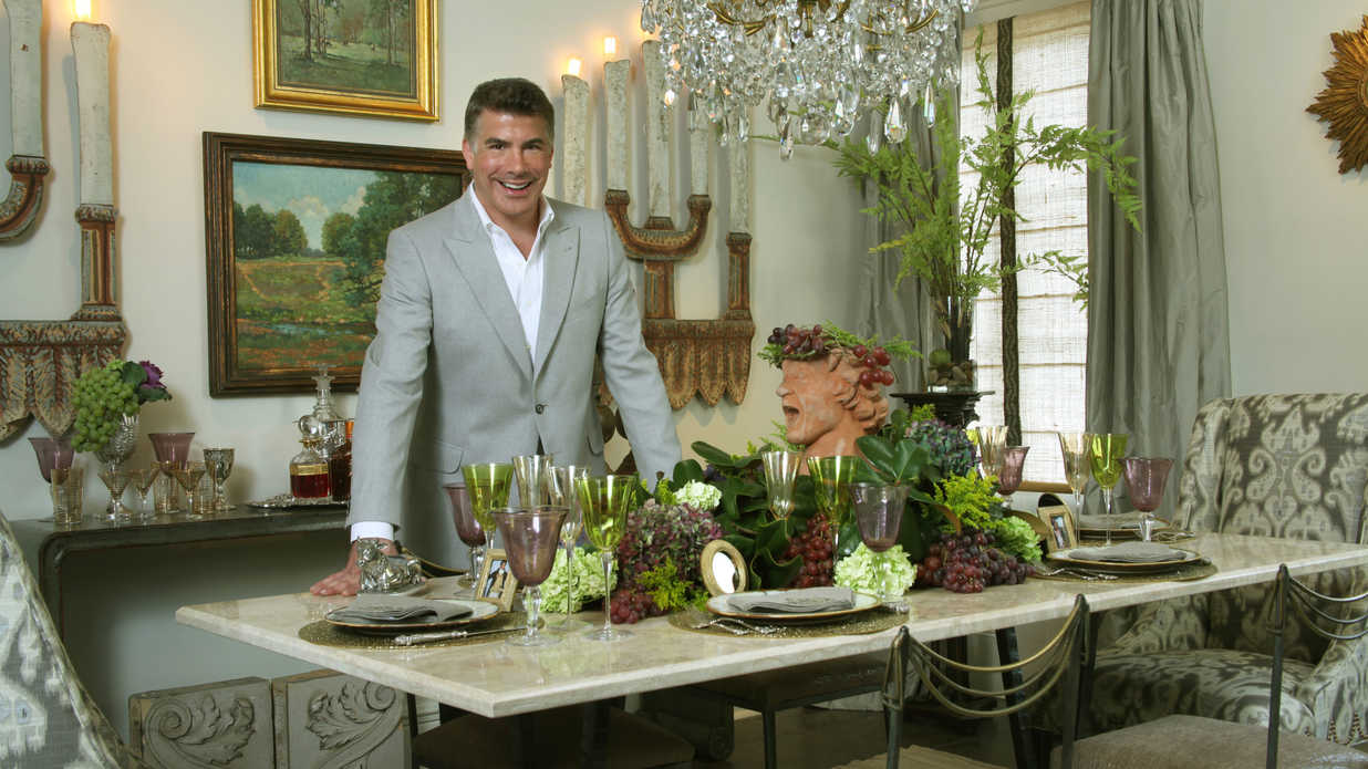 A Mardi Gras Table Setting Southern Living