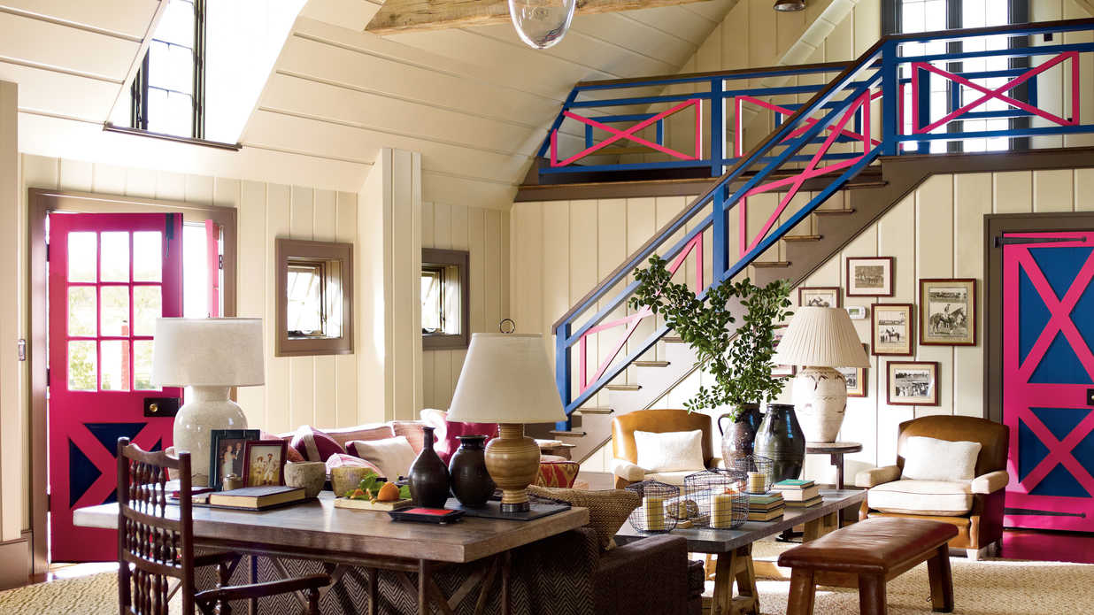 Southern Living Living Room Barn Decorating Ideas Farm Barn Turned Posh Hang Out Southern