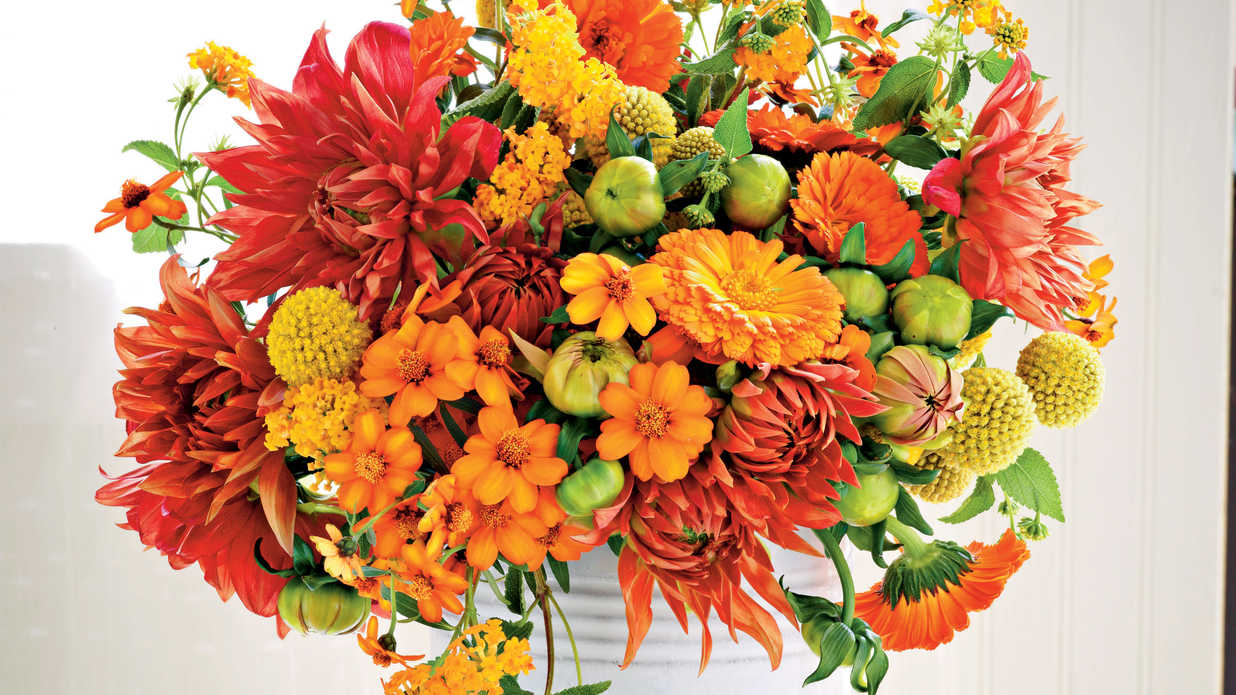 Create Beautiful Seasonal Centerpieces