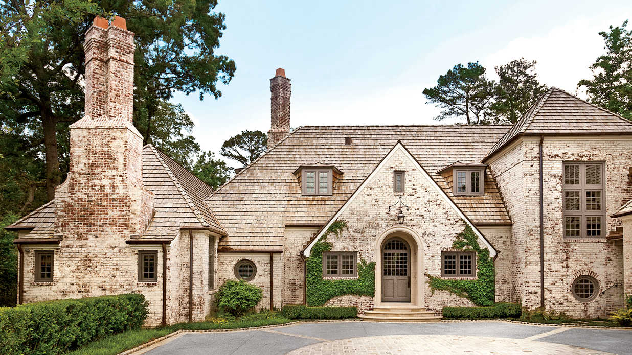 Atlanta Manor Makeover Charming Home Exteriors