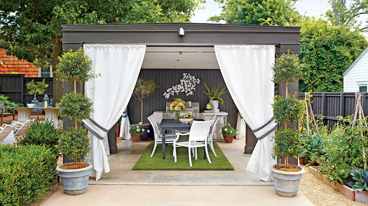 Indoor Outdoor Fabric Ideas