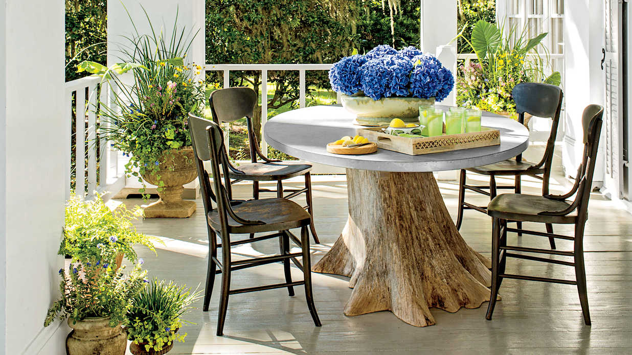 porch and patio design inspiration southern living - Patio Living