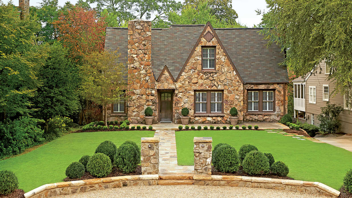 Exterior makeovers before and after southern living for Home exterior makeover ideas