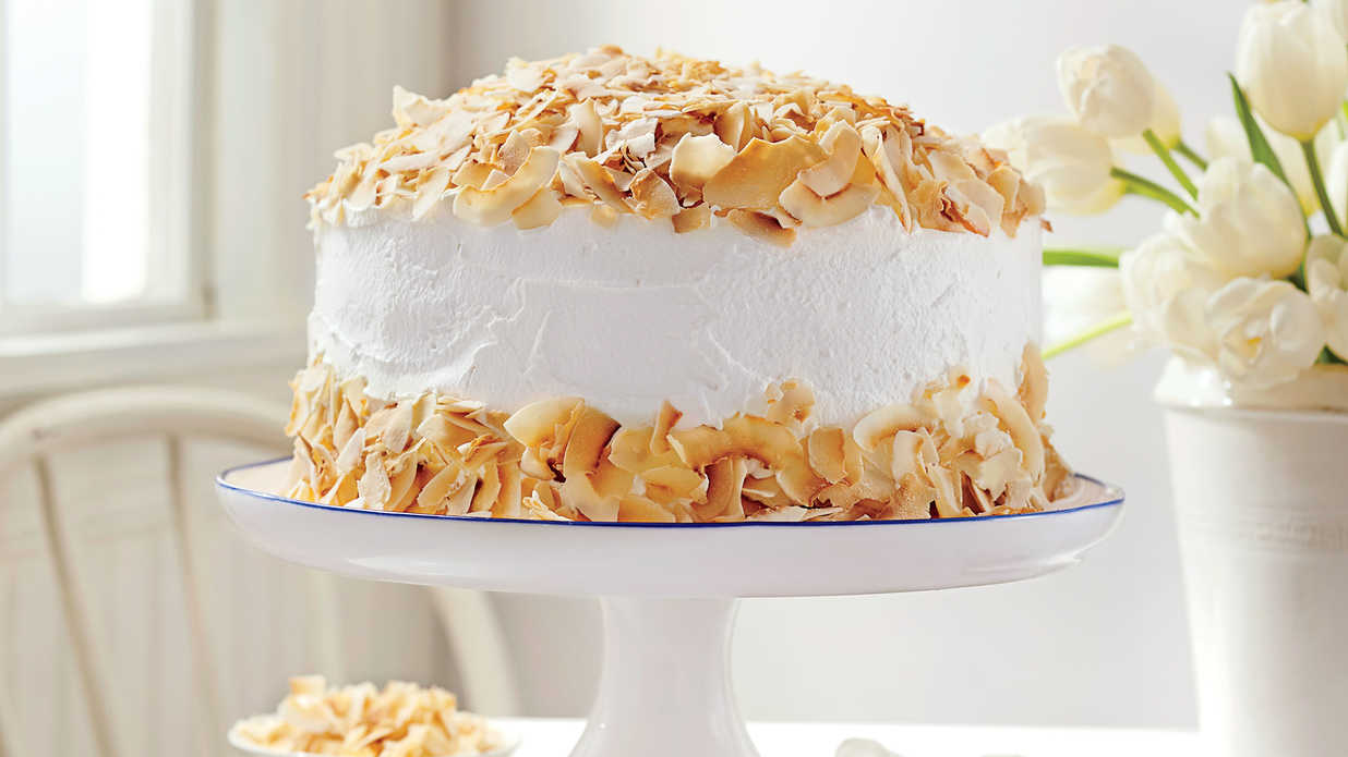 coconut cream cake easter cakes southern living