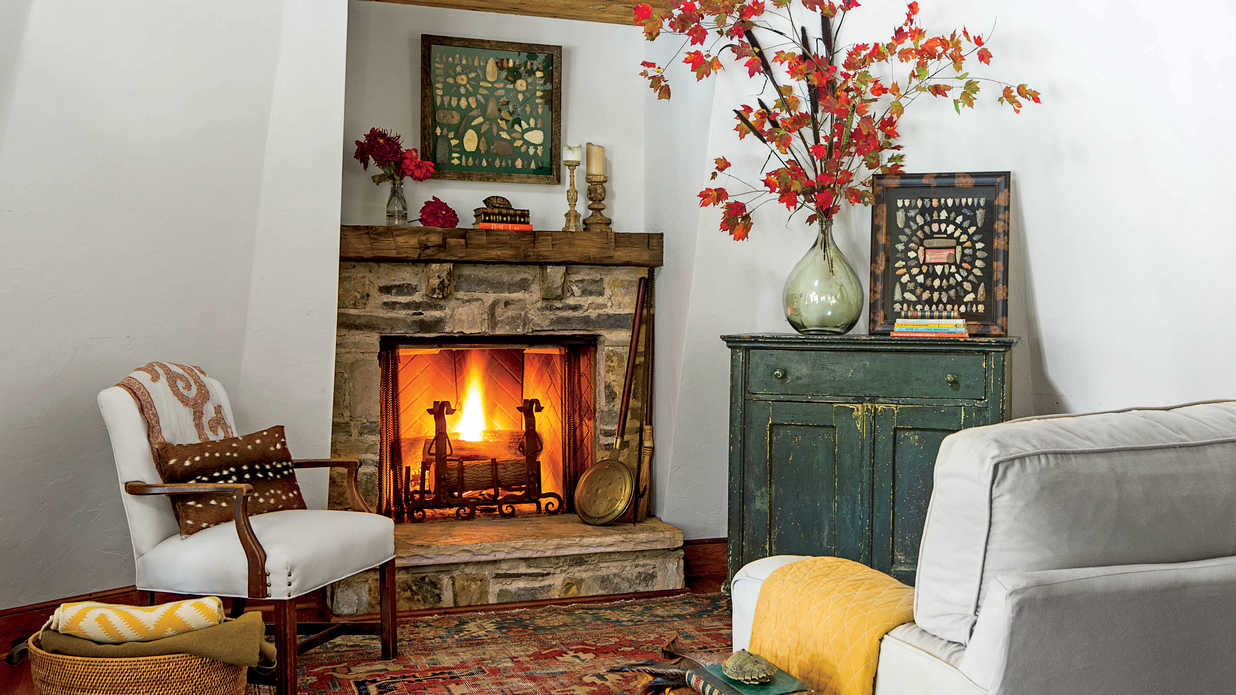Fall Fireplaces And Mantels
