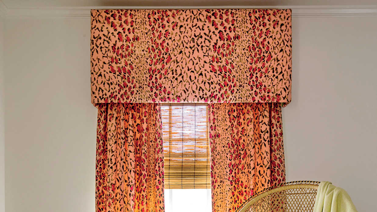 how to make your own window valance southern living