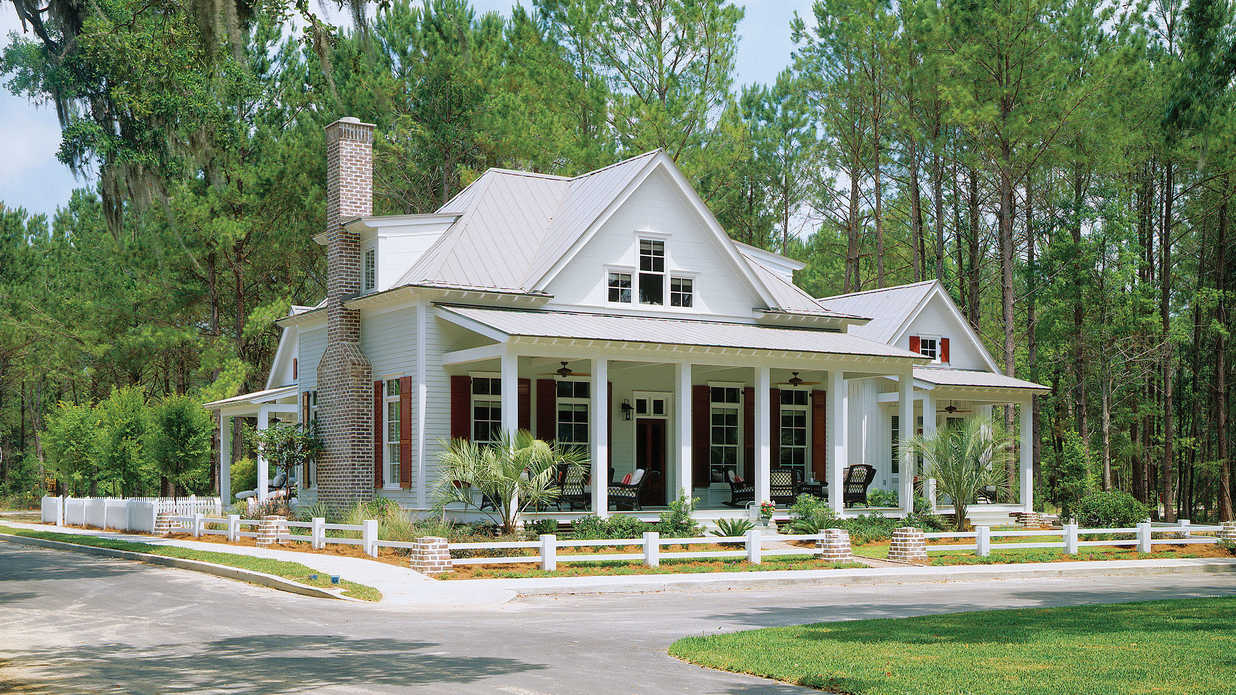 Southern living house plans one story 19 photo gallery for Best house design of the year