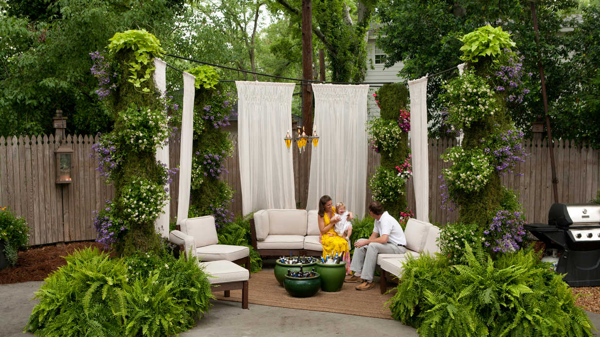 After Instant Party Give Your Yard A Landscaping