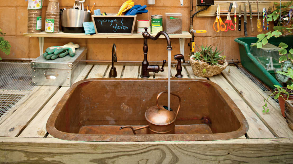 water wise how to organize your garden shed southern