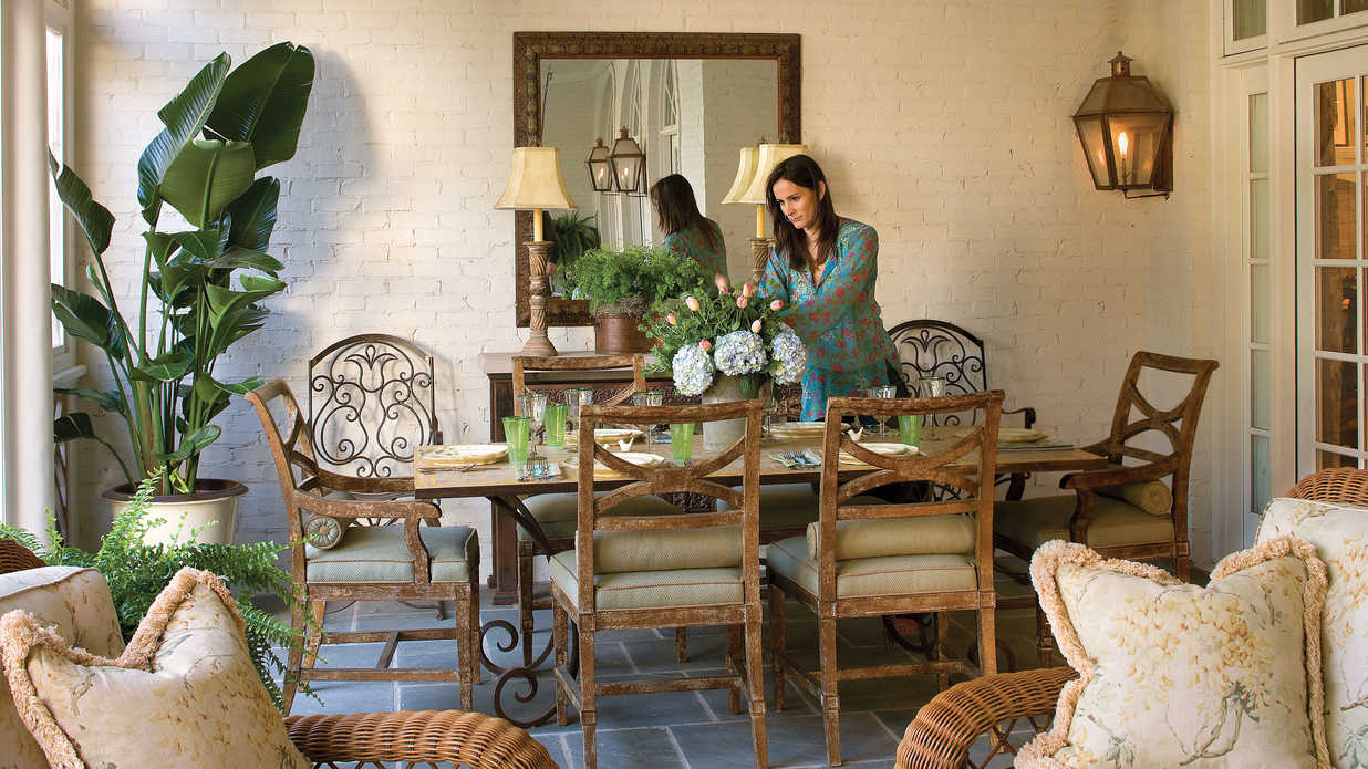 Screened Porch With Style Porch And Patio Design Inspiration Southern Living