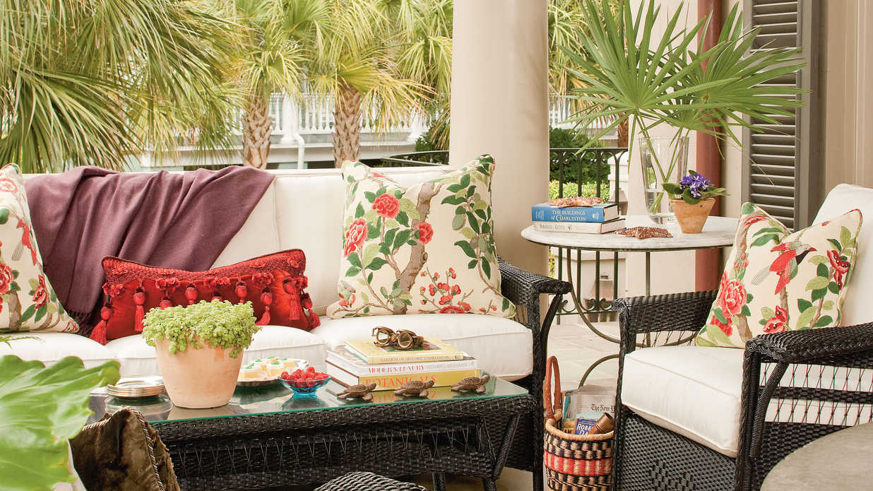 Beach Decorating Ideas: Outdoor Spaces