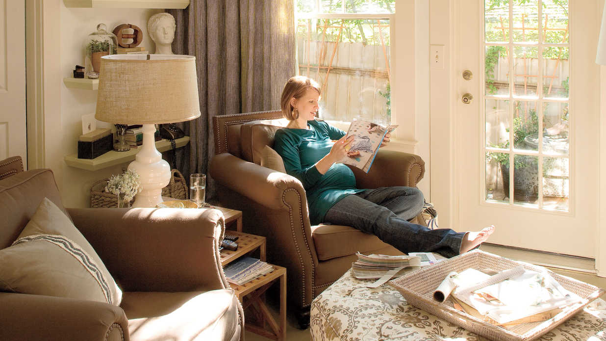 a living room redo with a personal touch decorating ideas southern living