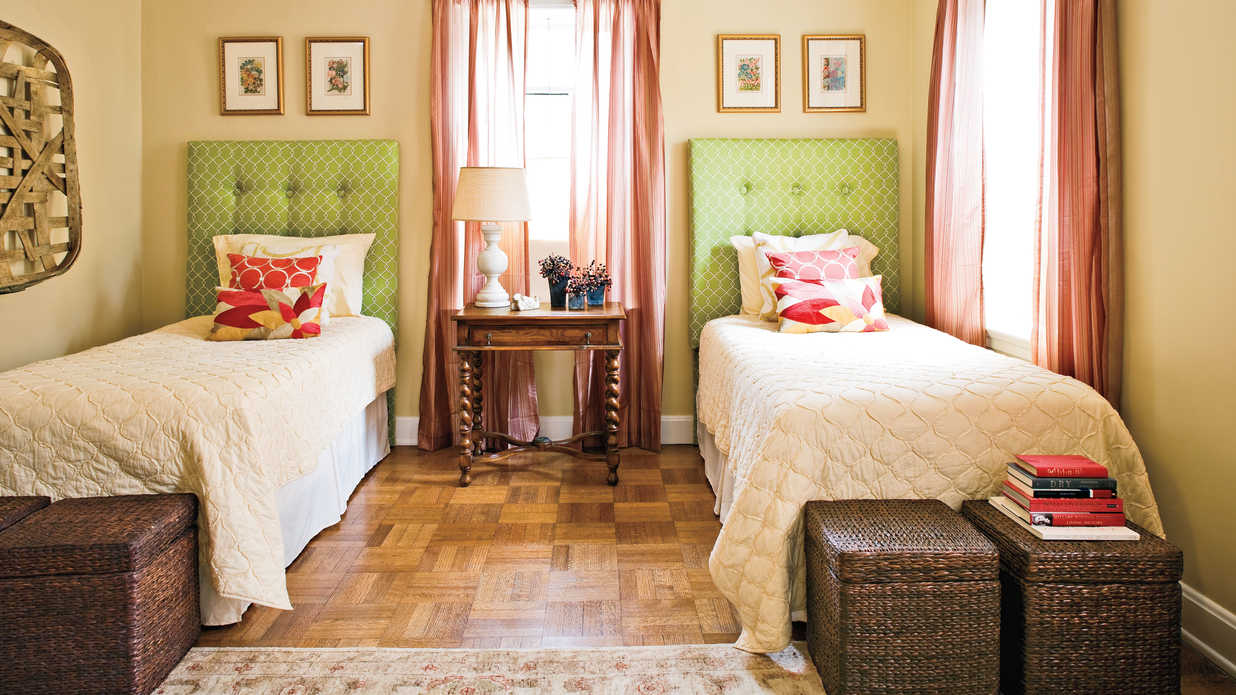 suite gracious guest bedroom decorating ideas southern living