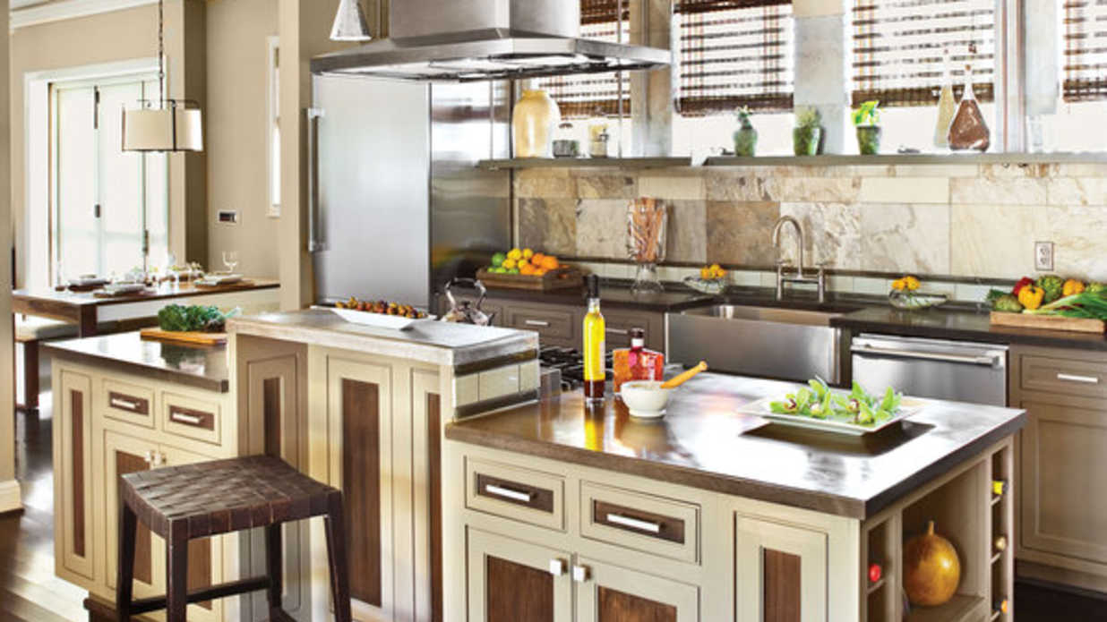 Eco friendly kitchen idea house kitchen design ideas for Southern style kitchen ideas