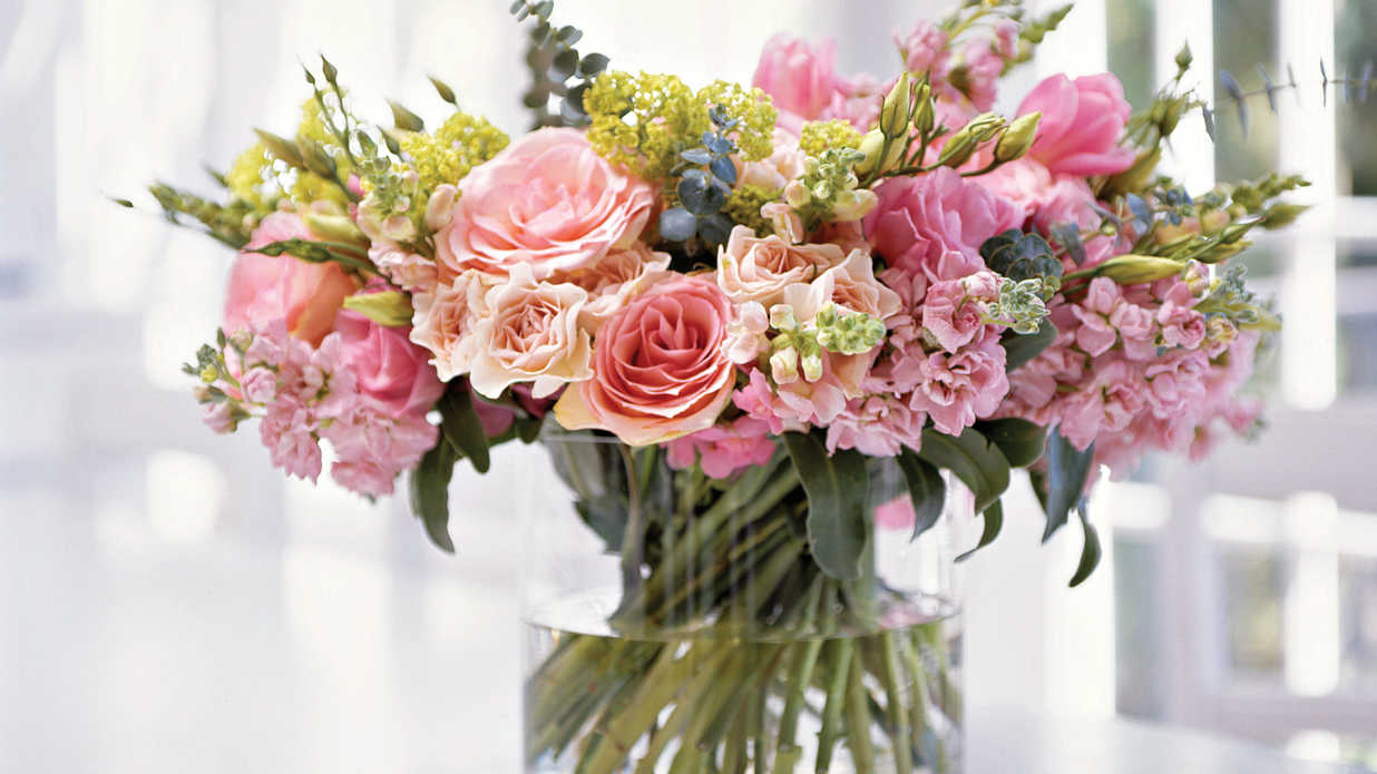 How To Make a Posy Bouquet