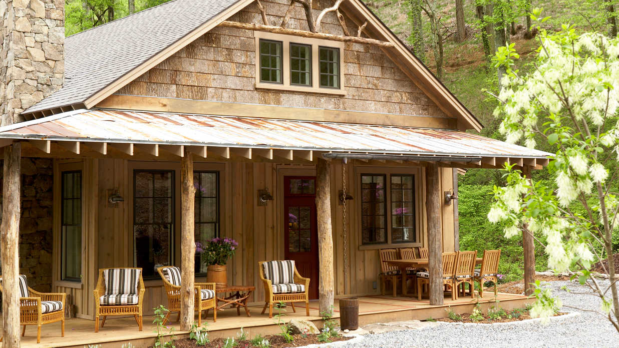 A Mountain Getaway Cottage In Asheville North Carolina