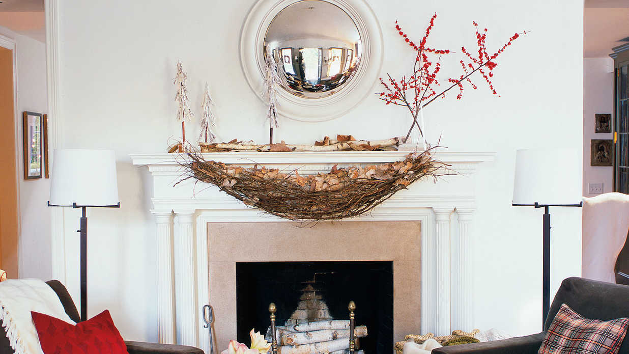 Christmas and Holiday Decorating Ideas: Mantels - Southern Living