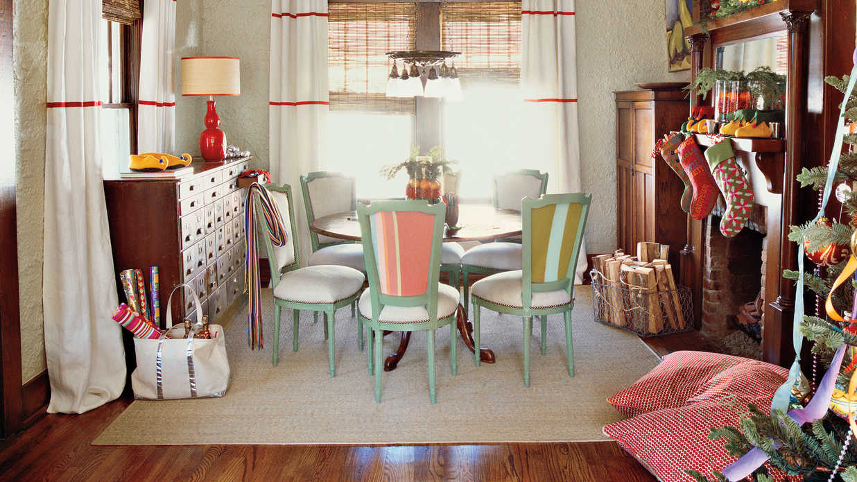 Sit On Floor Pillows 100 Fresh Christmas Decorating Ideas Southern Living