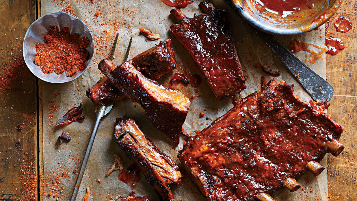 8 delicious recipes for barbecue ribs southern living forumfinder Gallery