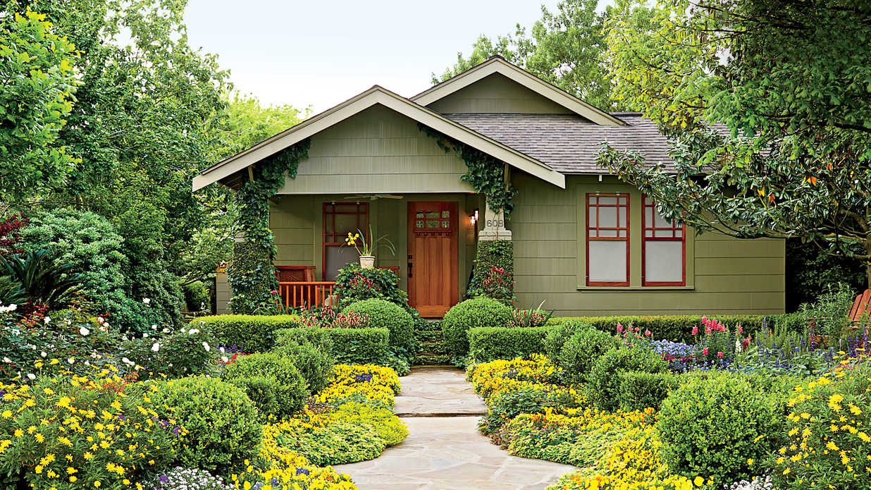 Houston Bungalow Garden