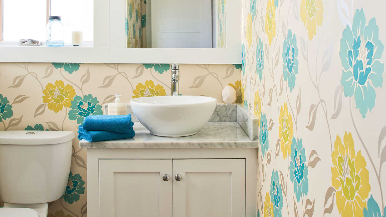 with window treatments comfortable guest baths southern living