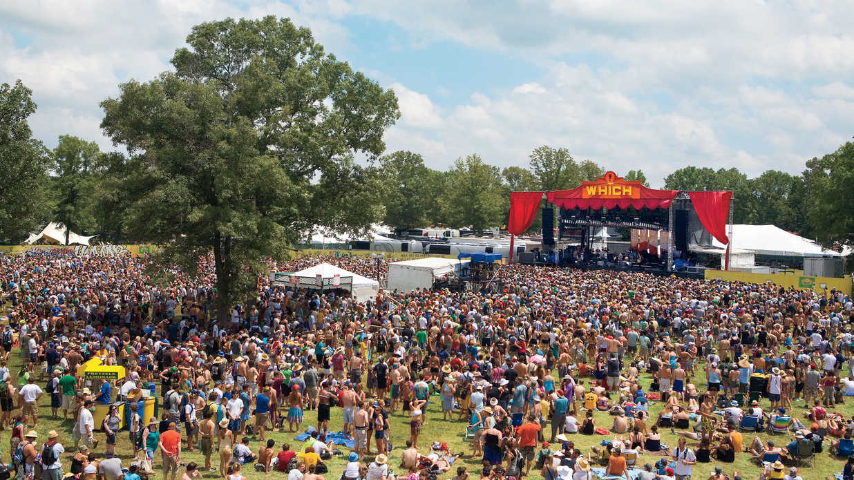 Guide To Bonnaroo Music Festival Manchester Tennessee