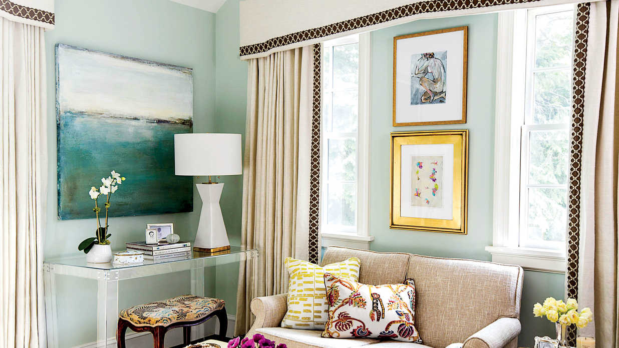 calming colors style guide bedroom seating ideas southern living