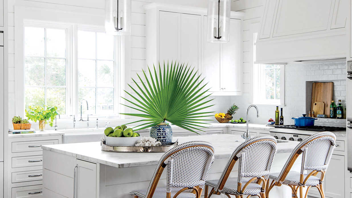 Beach inspired kitchen ideas southern living for Beach kitchen ideas