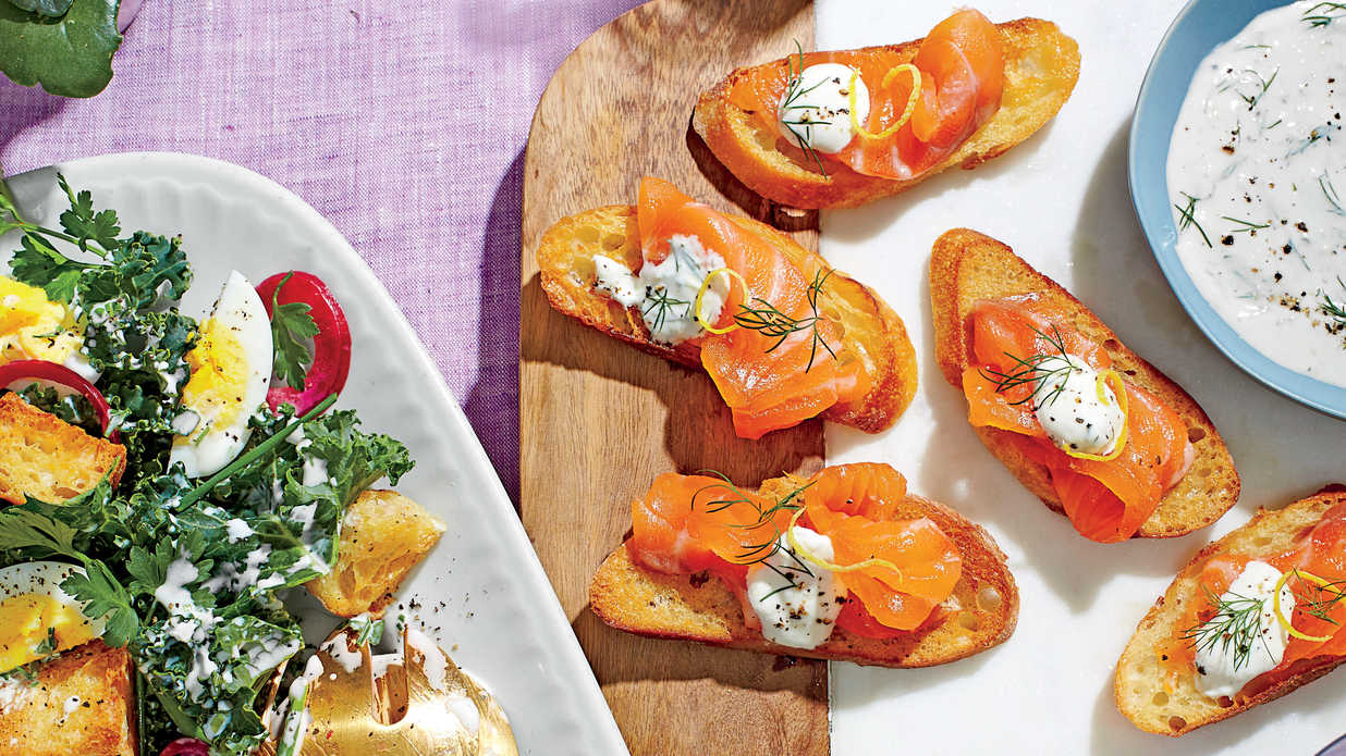 Cured salmon with dill horseradish cream may 2016 recipes southern living Bhg recipes may 2016