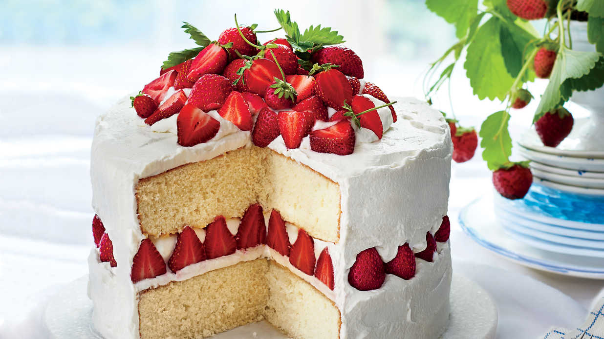 Strawberry Layer Cake Southern Living