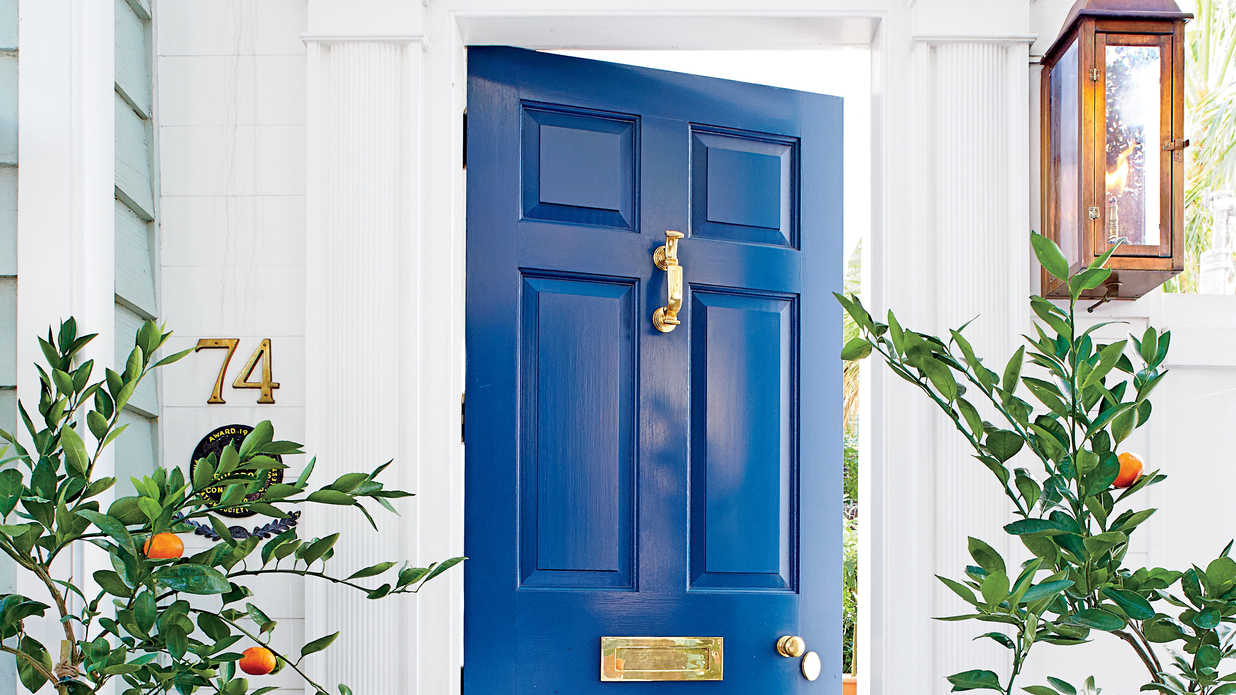 Ginger Jar Blue 13 Bold Colors For Your Front Door
