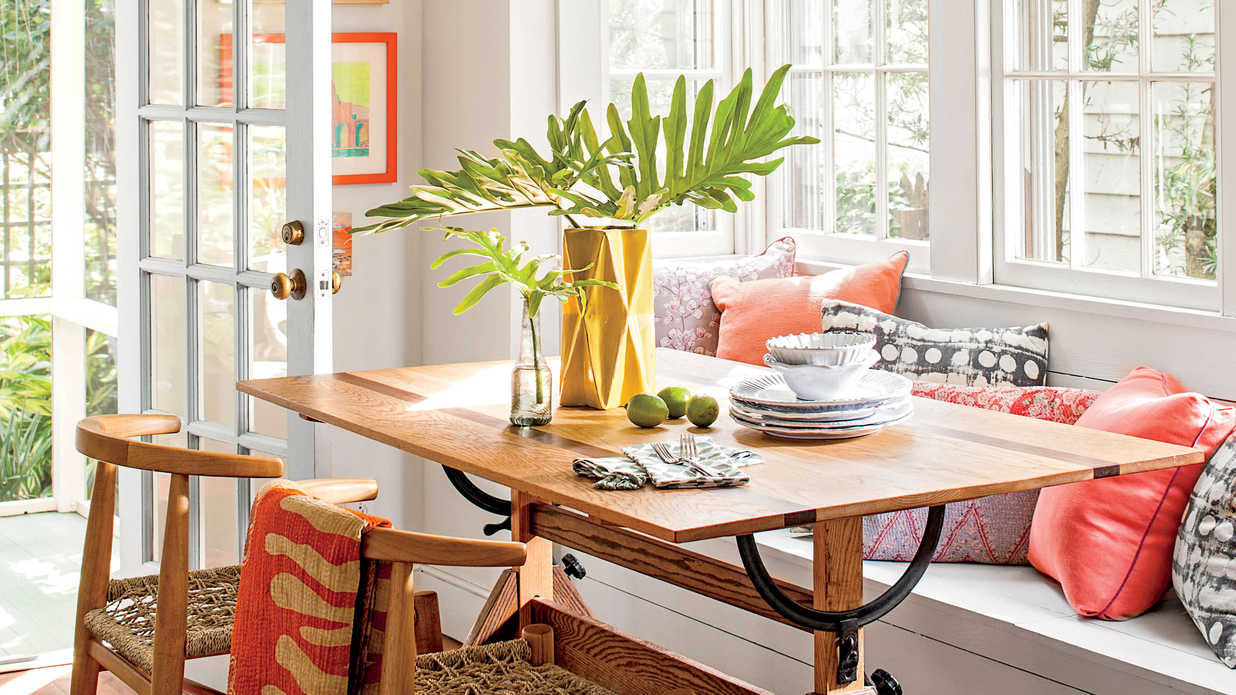 10 Colorful Ideas for Small House Design