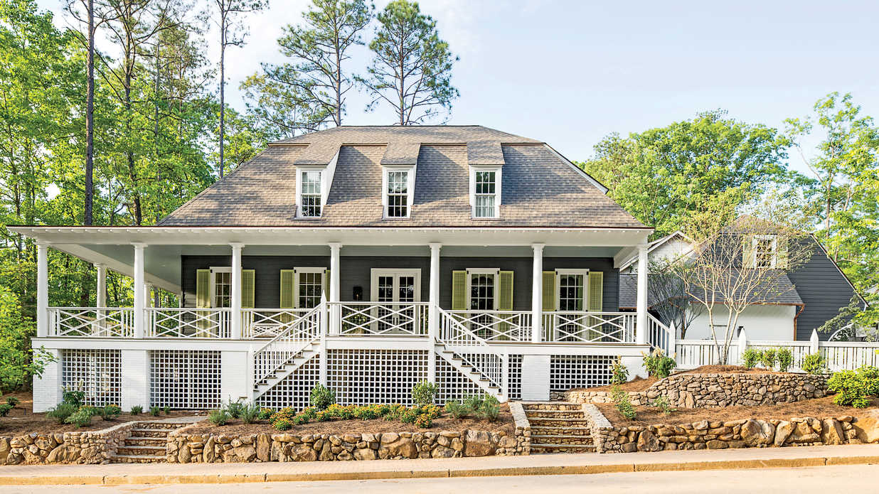Our best ever house plans southern living - How to paint a 2 story house exterior ...