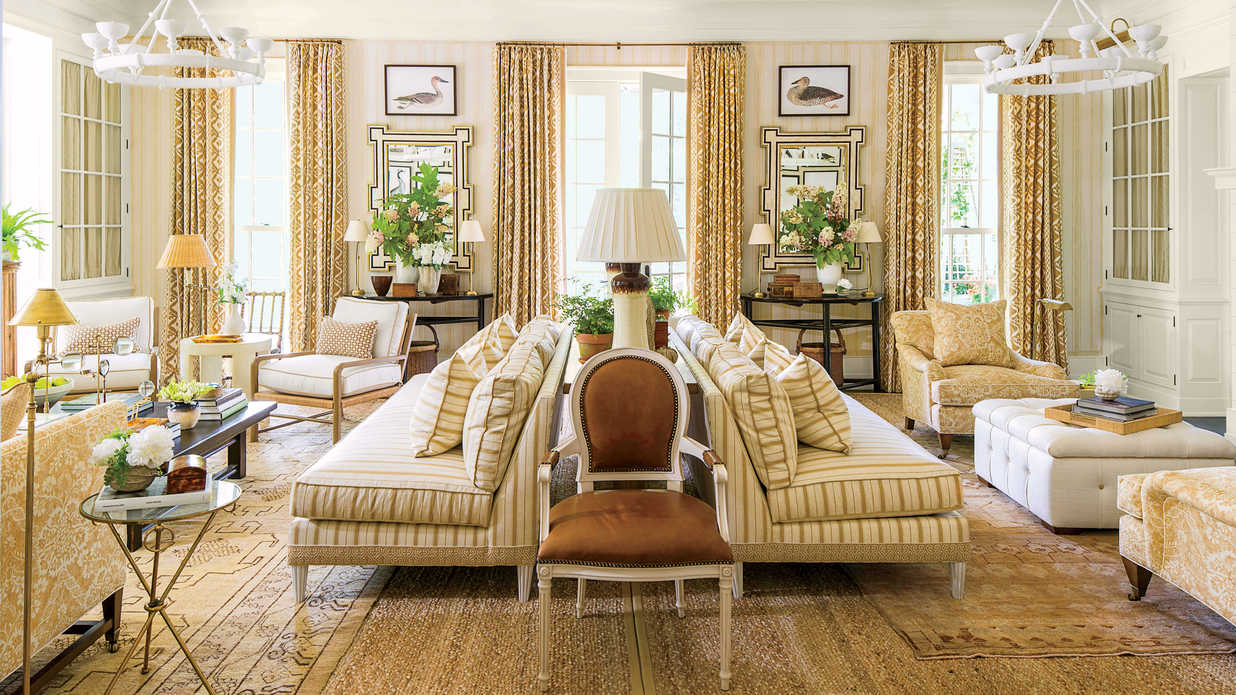 2016 Idea House: The Living Room - Southern Living