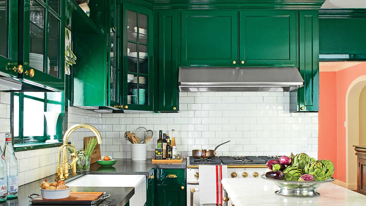 Colorful Kitchens Are Back But They Look Completely Diffe Southern Living