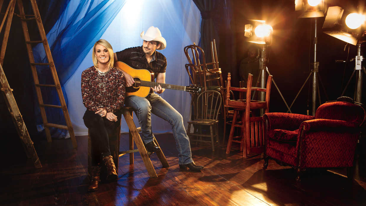 Behind The Scenes With Brad Paisley And Carrie Underwood