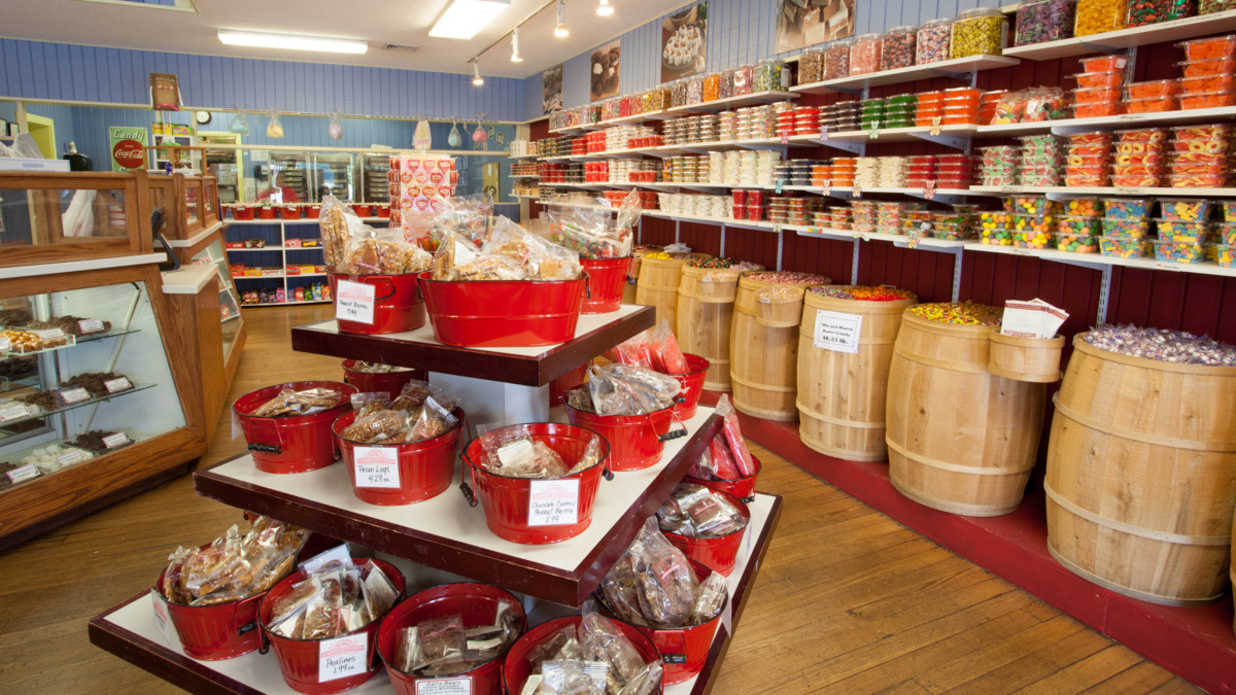 the souths best candy shops southern living - Candy Kitchen