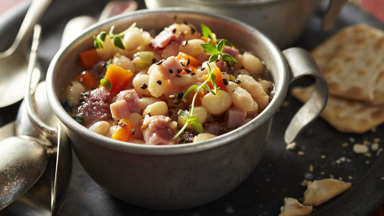 Navy Bean And Ham Soup Recipe Southern Living