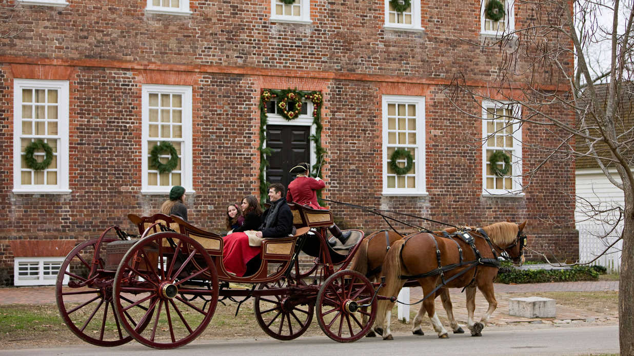 The South's Best Towns for the Holidays